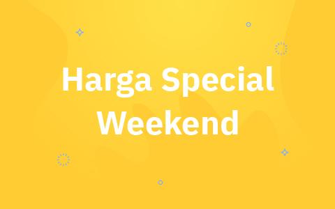 Harga Spesial Weekend Zwitsal