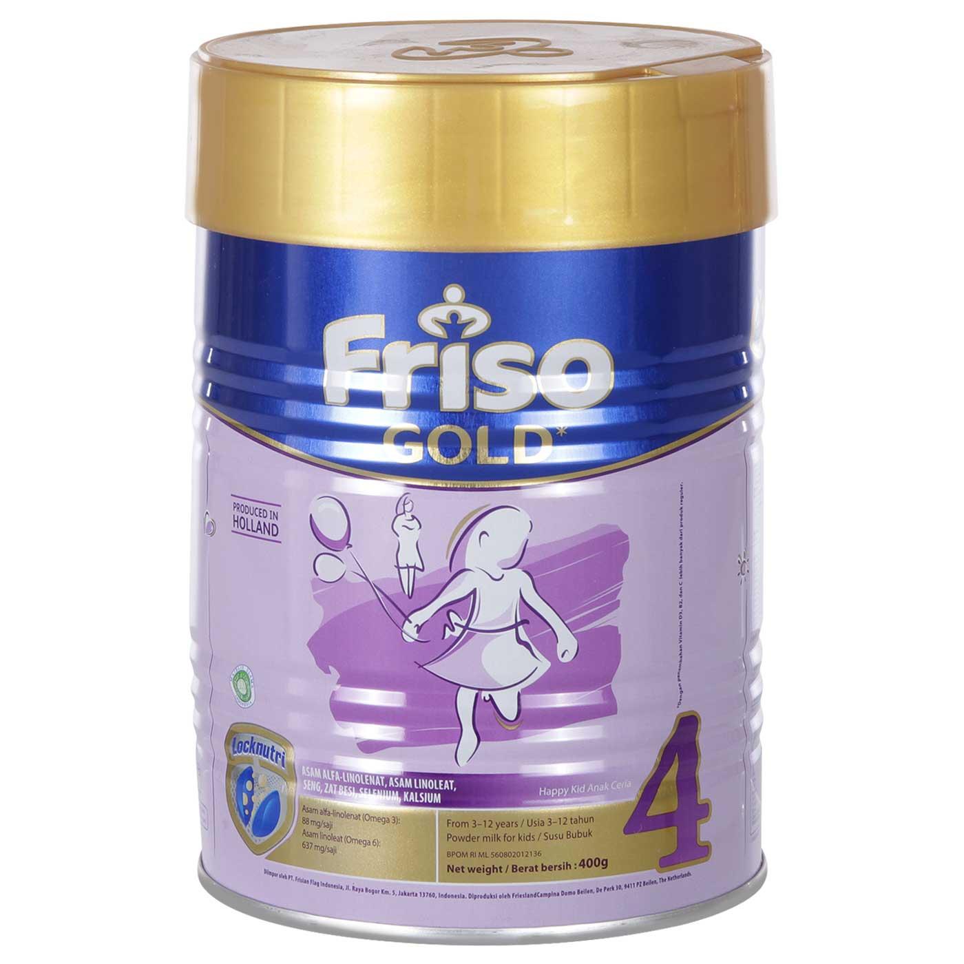 Friso 4 Gold 400gr Tin