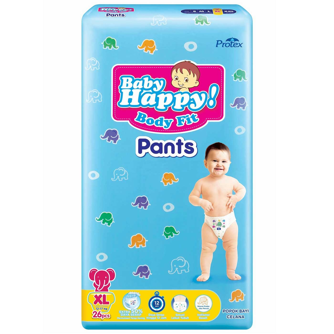 Baby Happy Pants  XL 26+4