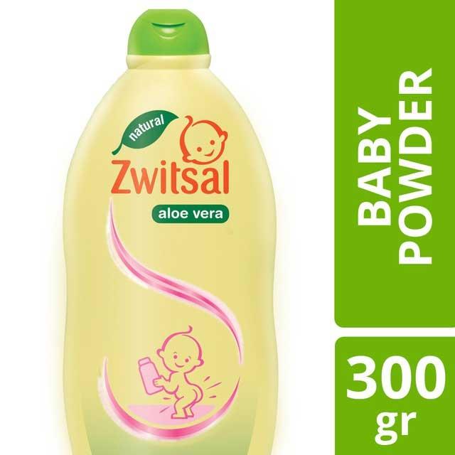 Zwitsal Baby Powder Aloe Vera 300gr