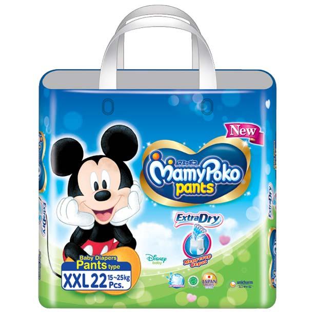 Mamypoko Extra Dry Pants XXL22 New