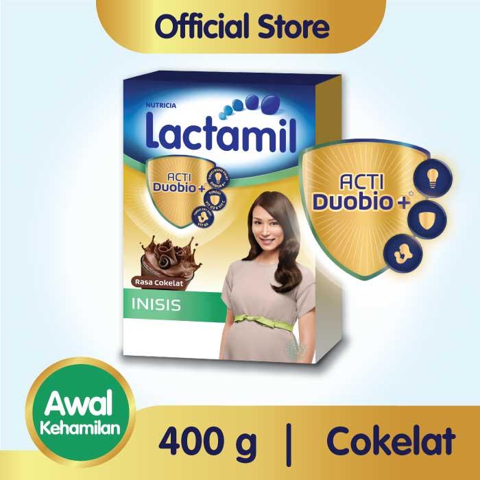 Lactamil Inisis Coklat Minuman Khusus Ibu Hamil 400 GR