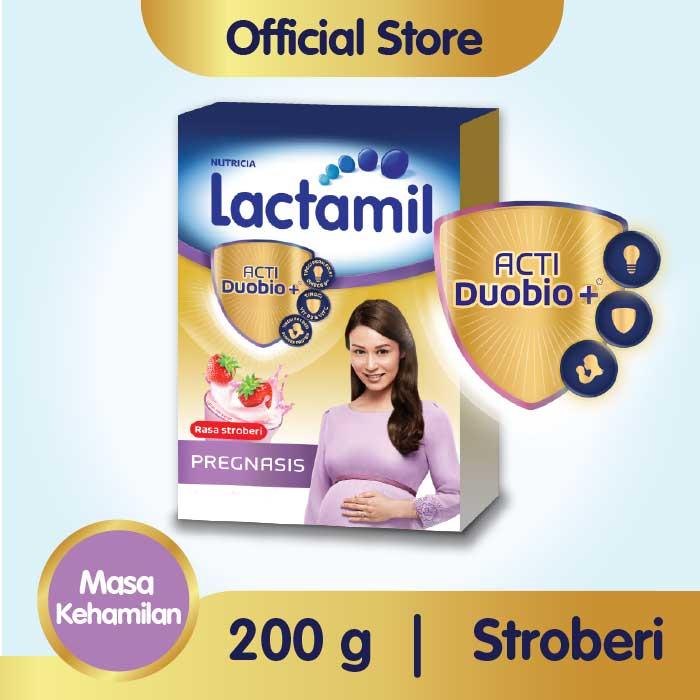 Lactamil Pregnasis Stroberi Minuman Khusus Ibu Hamil 200 GR