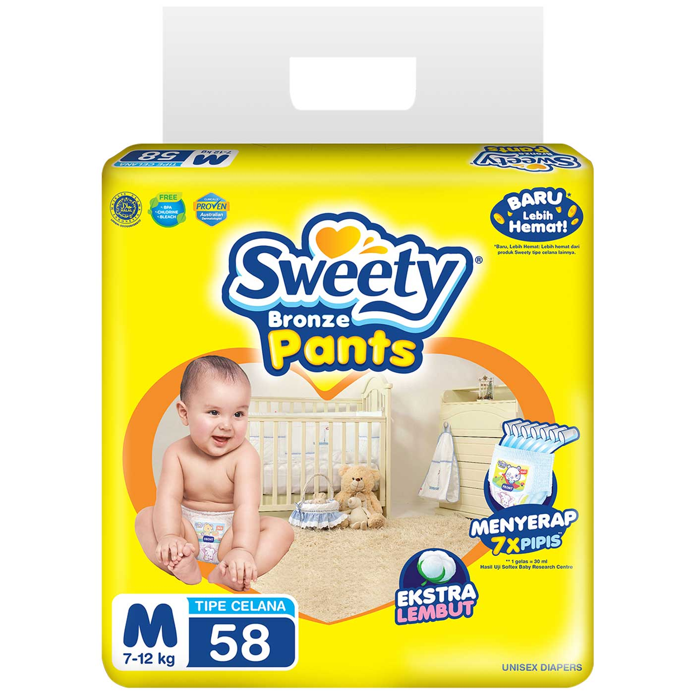 Sweety Bronze Pants Super Jumbo M 58