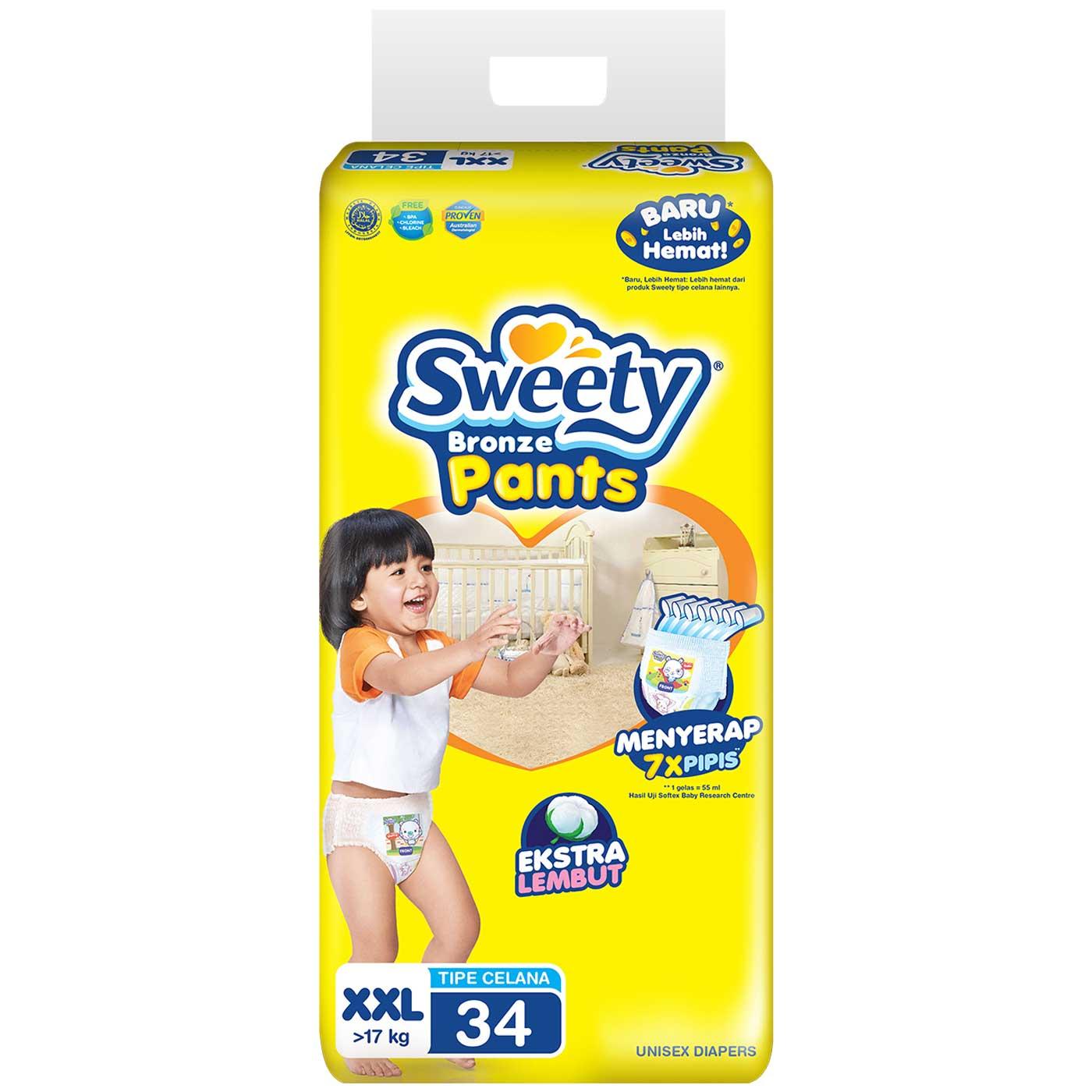 Sweety Bronze Pants Super Jumbo XXL 34