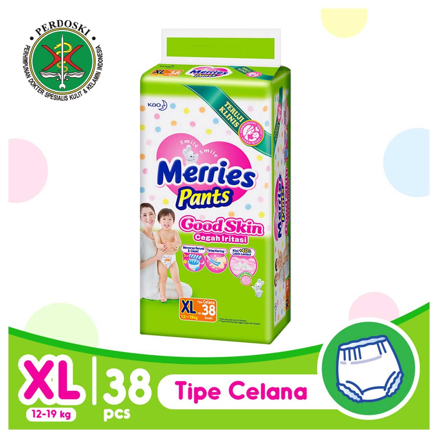 Merries Pants Good Skin XL-38