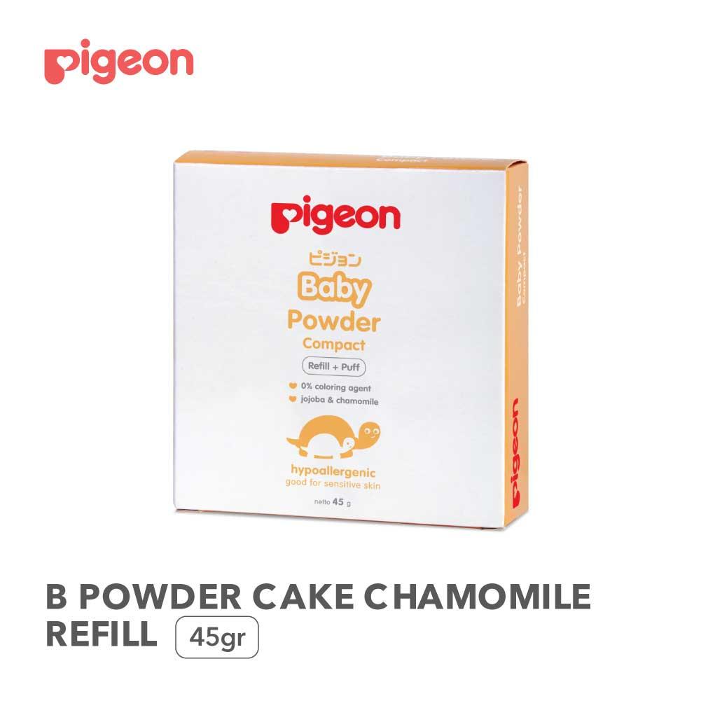 Pigeon Baby Powder Cake Chamomile 45gr - Paraben Free