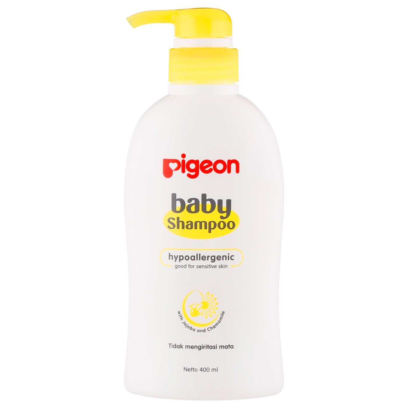 Pigeon Baby Shampoo Chamomile 400 Ml Pump