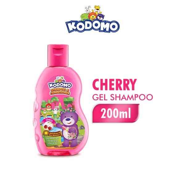 Kodomo Shampoo Gel Cherry Botol 200 ml