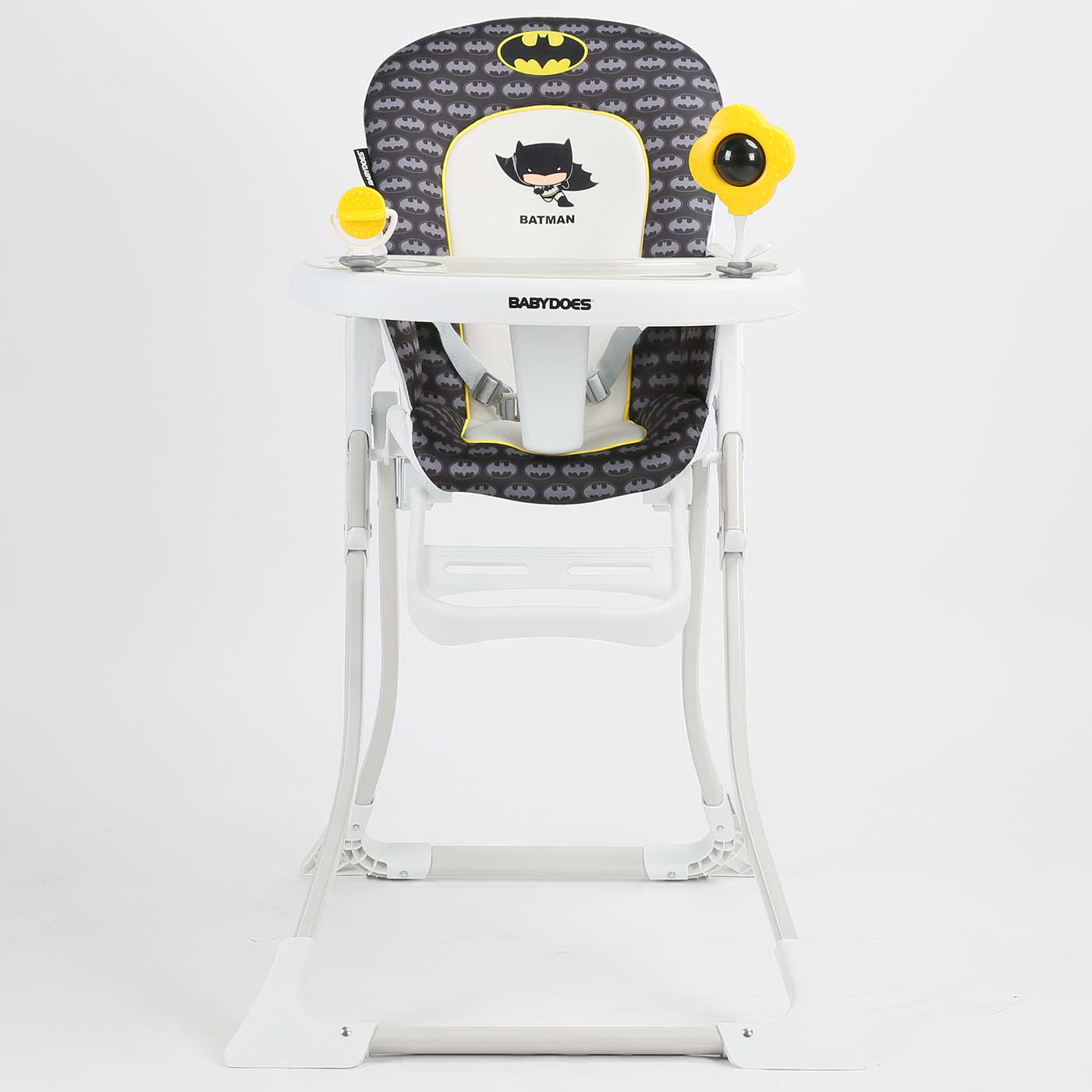 Babydoes - High Chair DCJL BP 043 Justice League Black