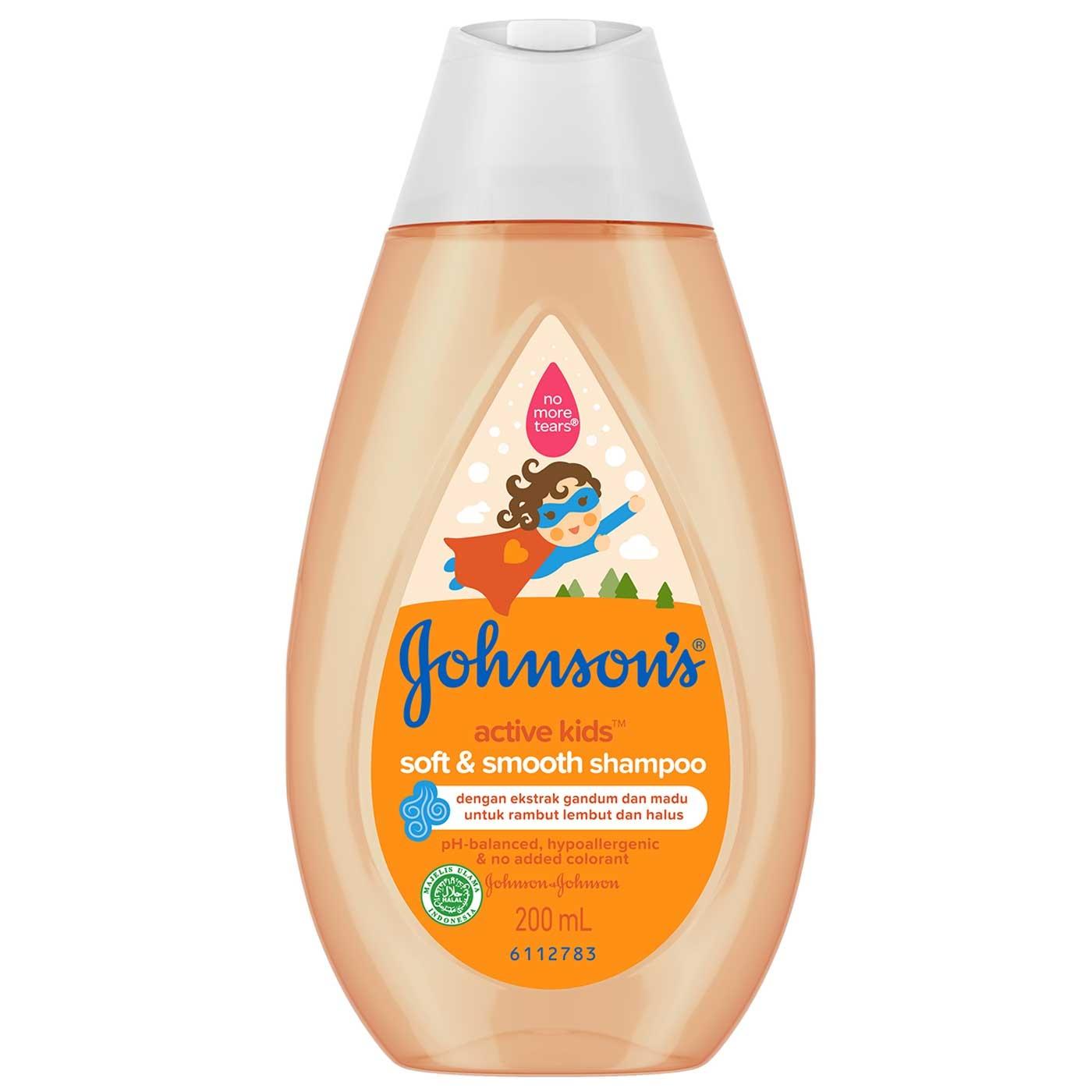 JOHNSON'S Active Kids Soft and Smooth Shampoo 200 ml 1
