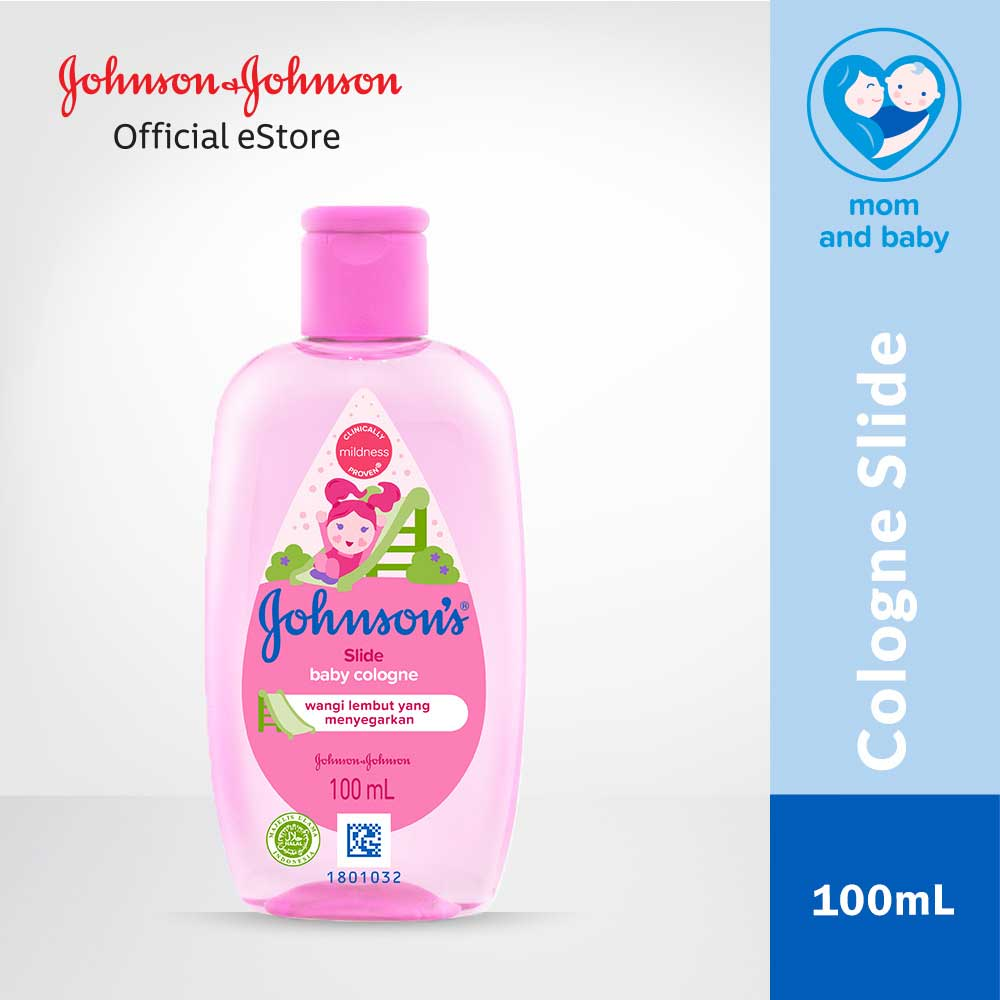 JOHNSON'S Slide Cologne 100ml