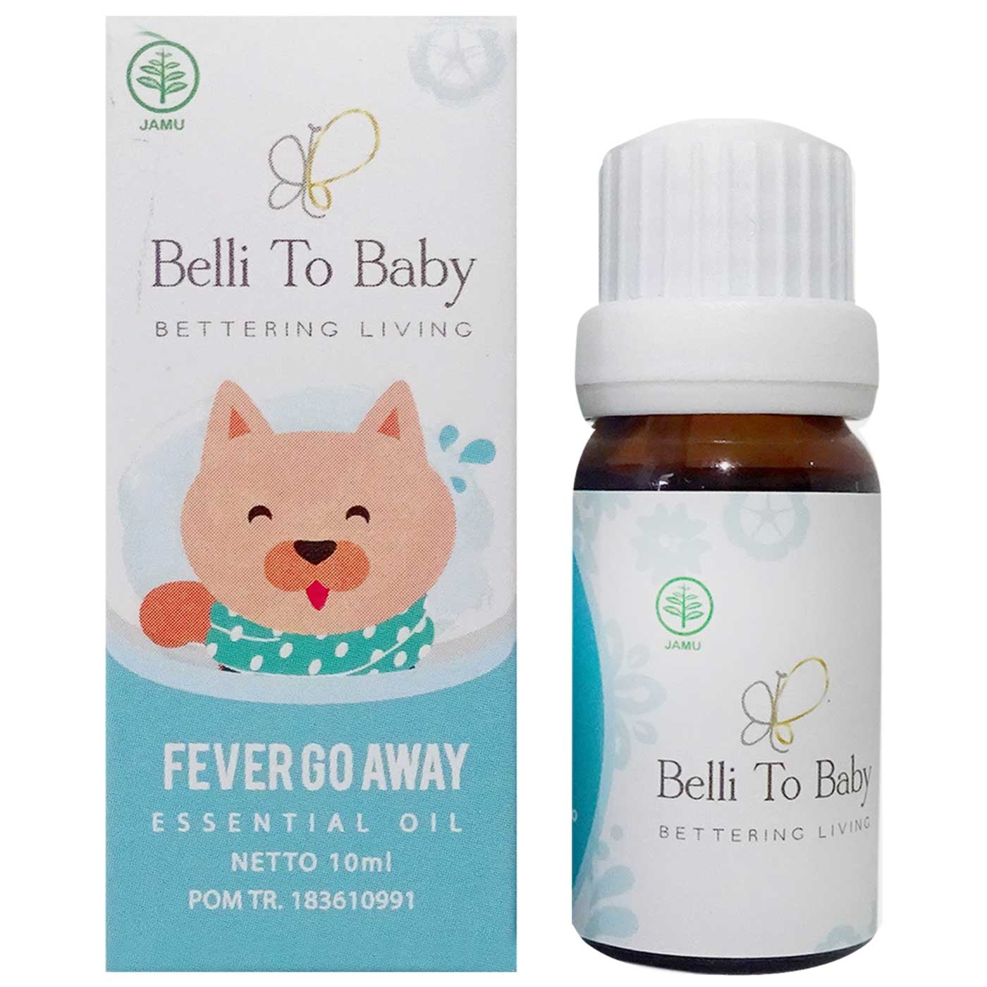 Belli To Baby Essential Oil Fever Go Away 10ml