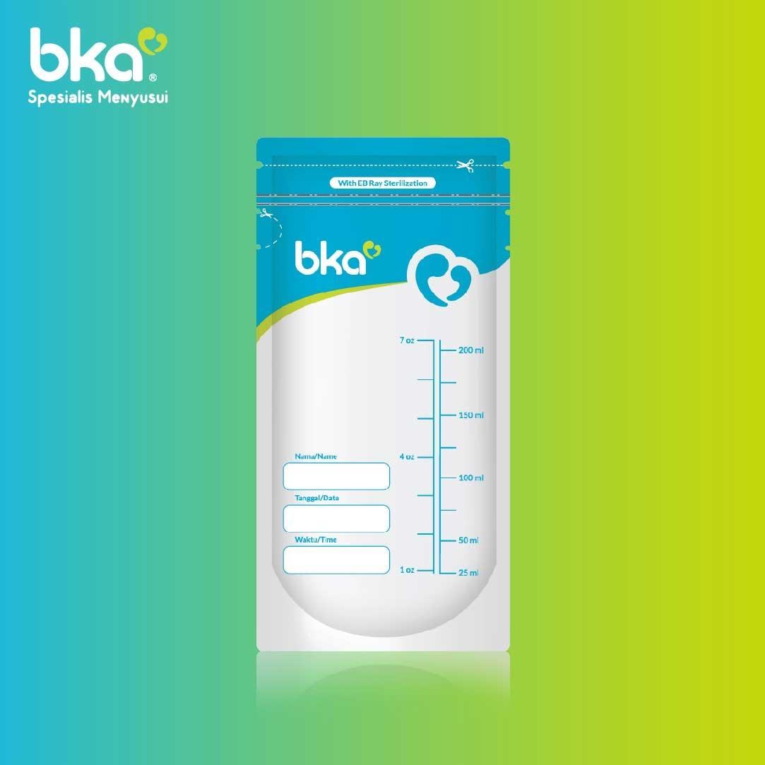 BKA Breastmilk Storage Bags 200ml 30pcs