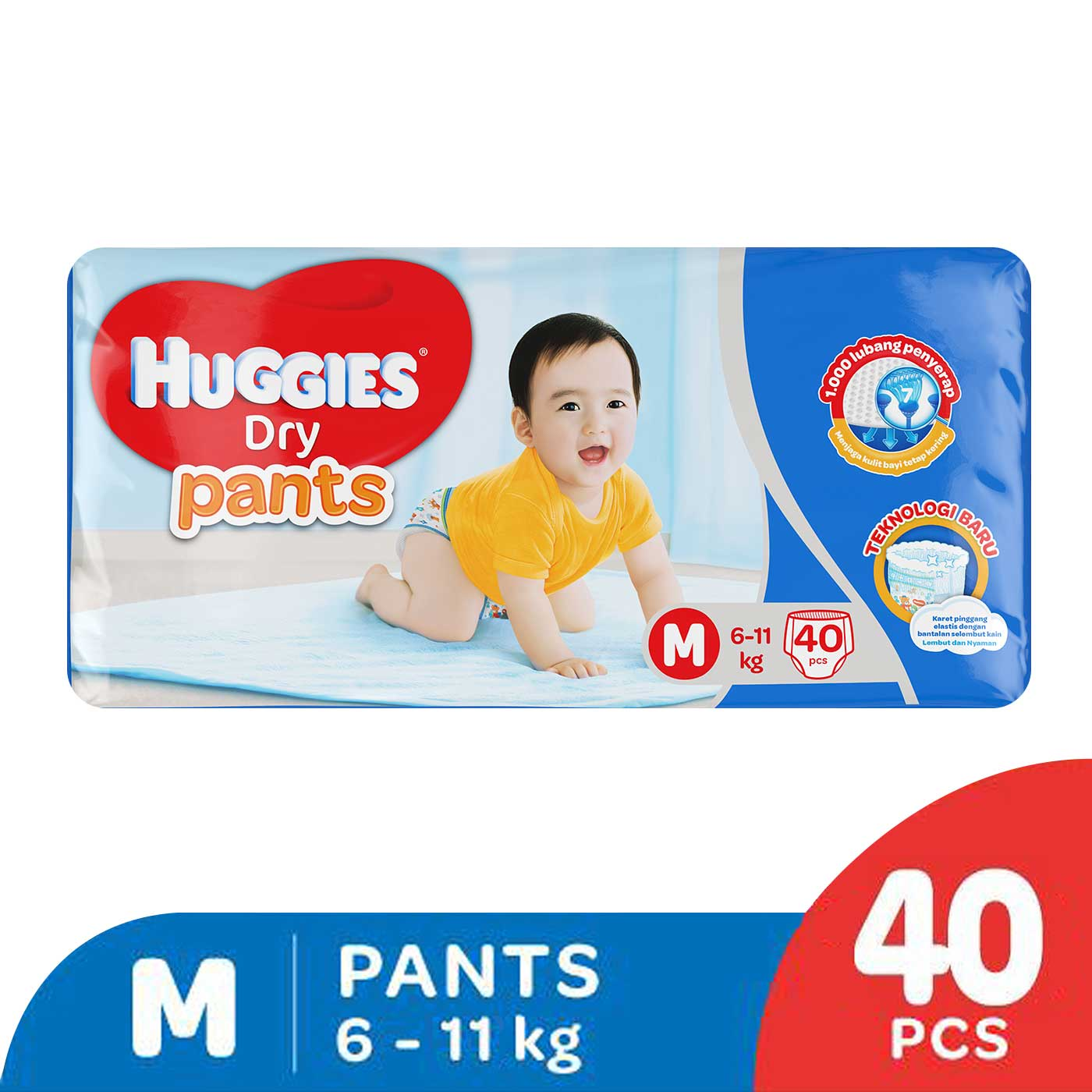 Huggies Dry Pants M 40