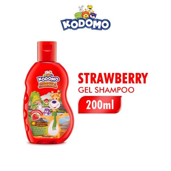 Kodomo Shampoo Gel Strawberry Botol 200ml