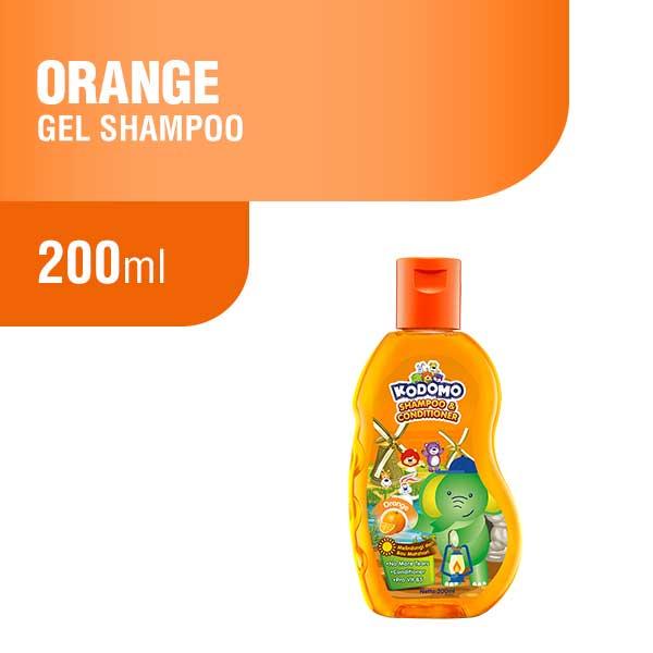 Kodomo Shampoo Gel Orange Botol 200 ml