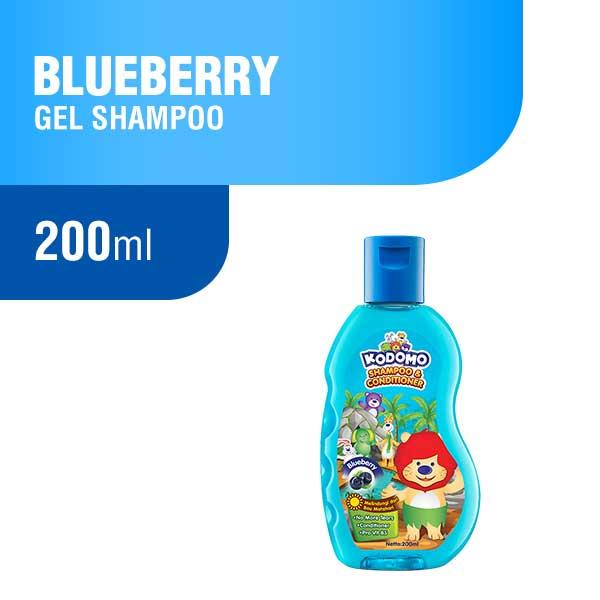 Kodomo Shampoo Gel Blueberry Botol 200 ml