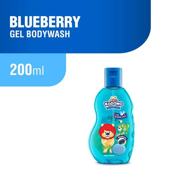Kodomo Bodywash Blueberry Botol 200ml