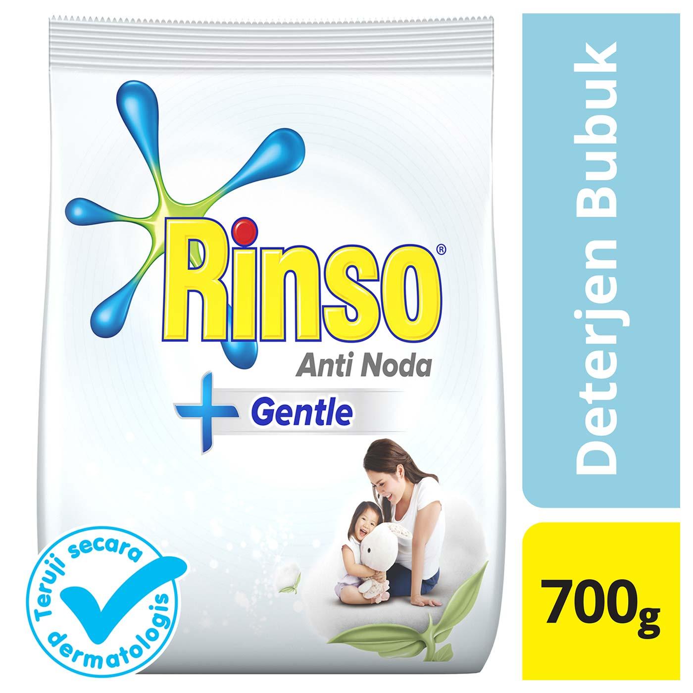Rinso Gentle Deterjen Bubuk 700gr