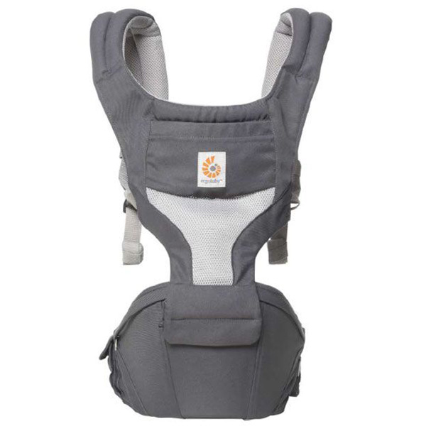 Ergobaby Carrier Hipseat Cool Air Mesh Carbon Grey