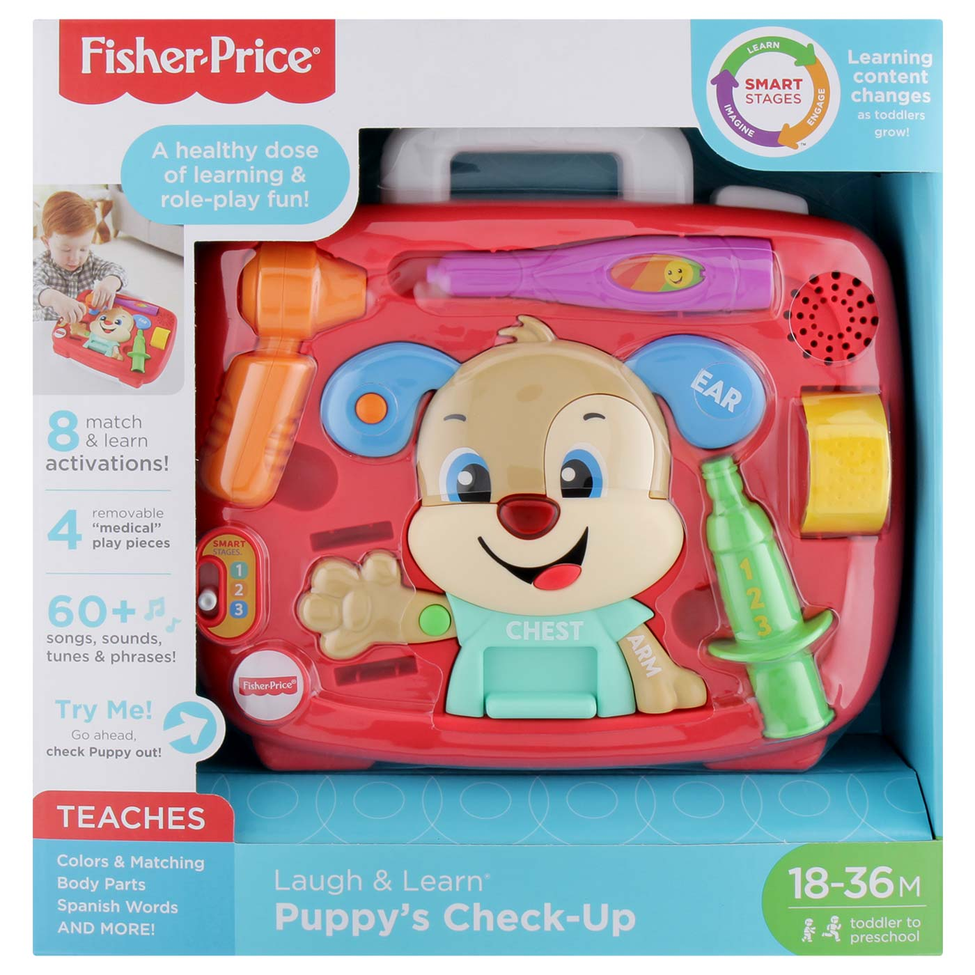 Fisher Price FF  Smart Stages Puppy's Check Up Kit 1