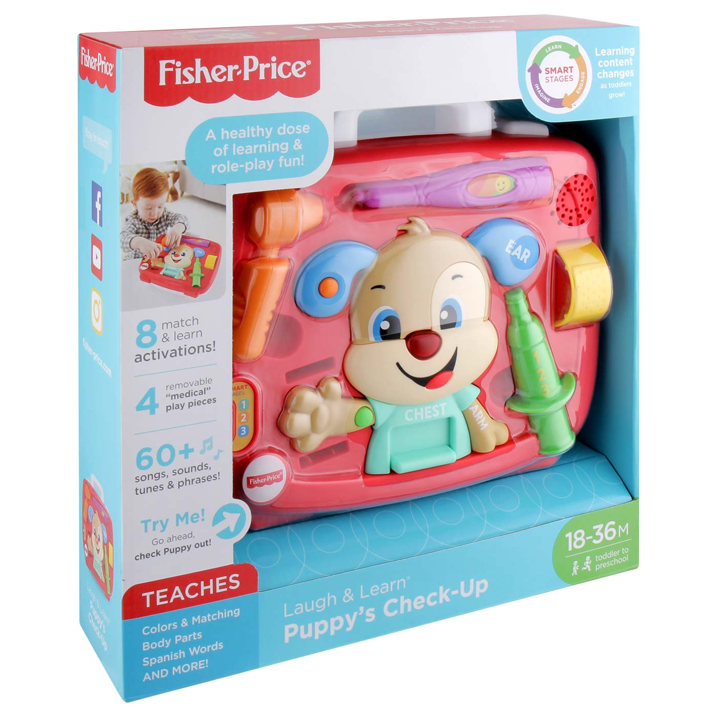 Fisher Price FF  Smart Stages Puppy's Check Up Kit 2