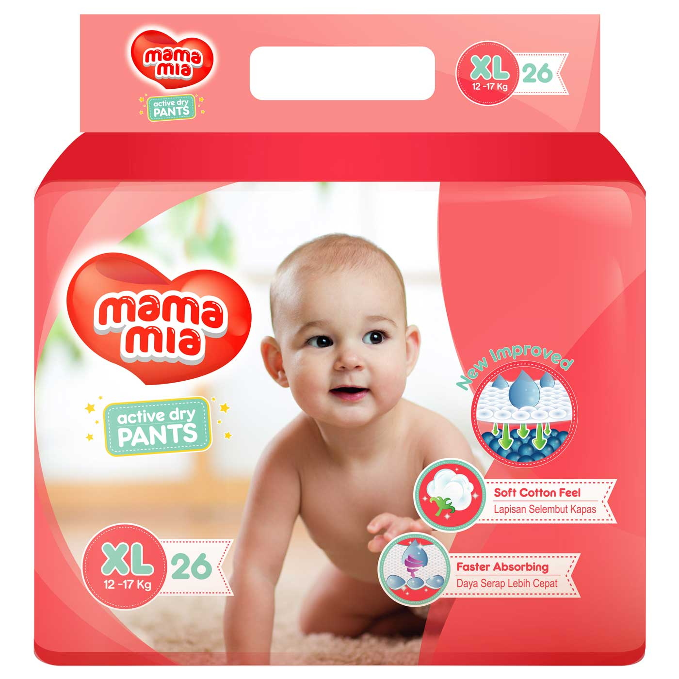 Mamamia Pants XL26