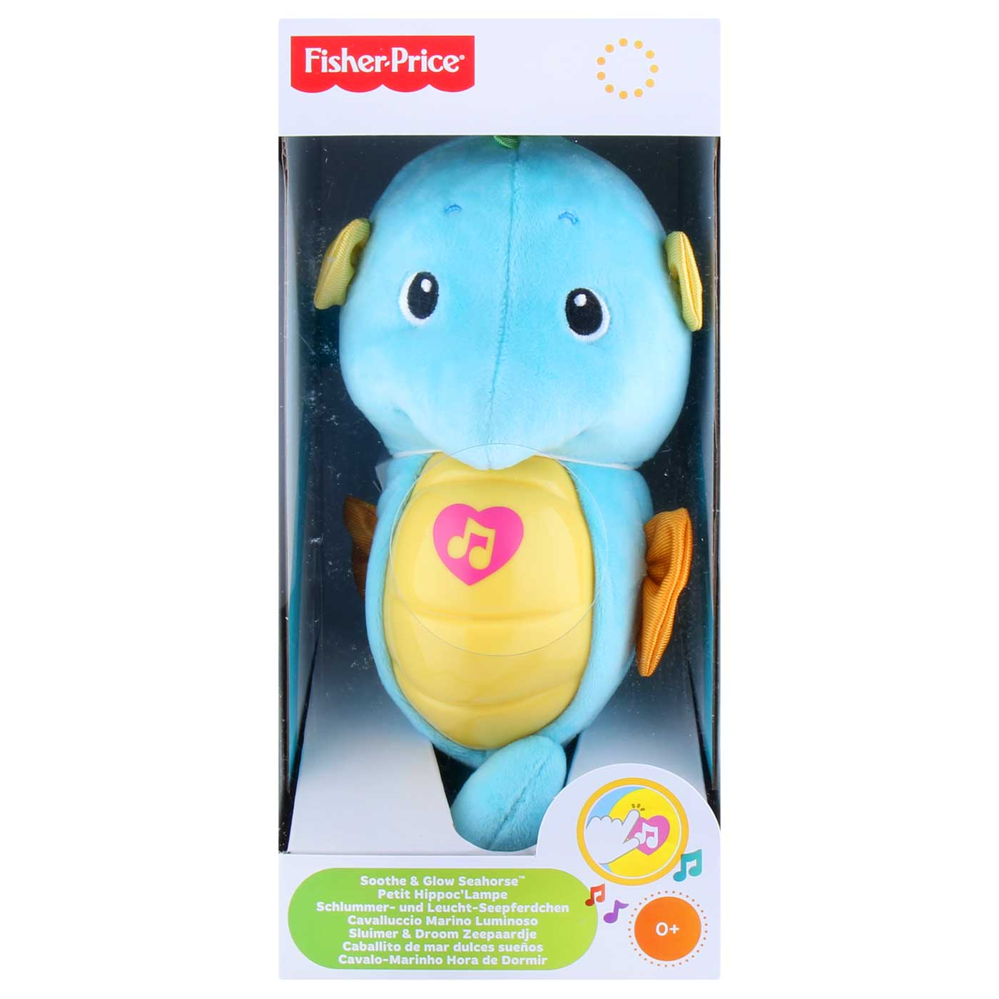 Fisher Price Soothe & Glow Seahorse WB DGH82