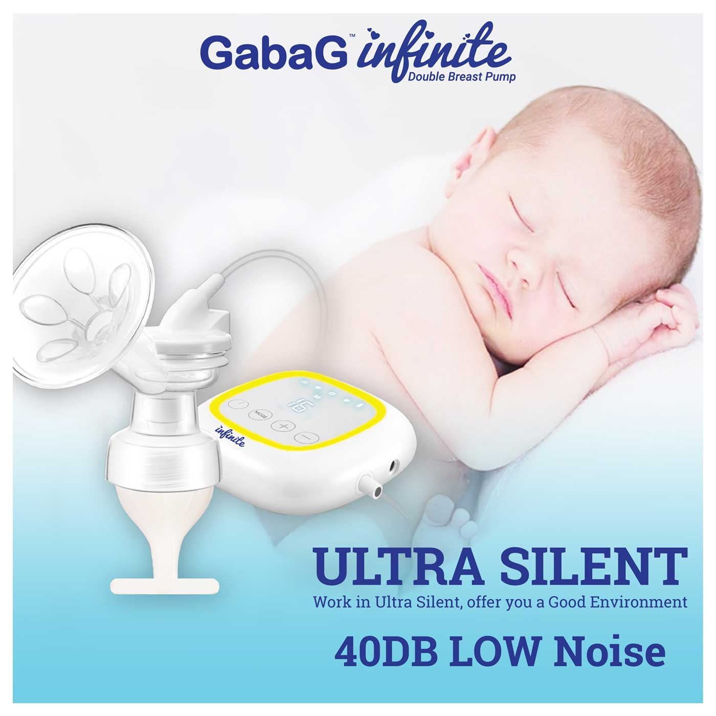 Gabag Infinite Double Breast Pump 3