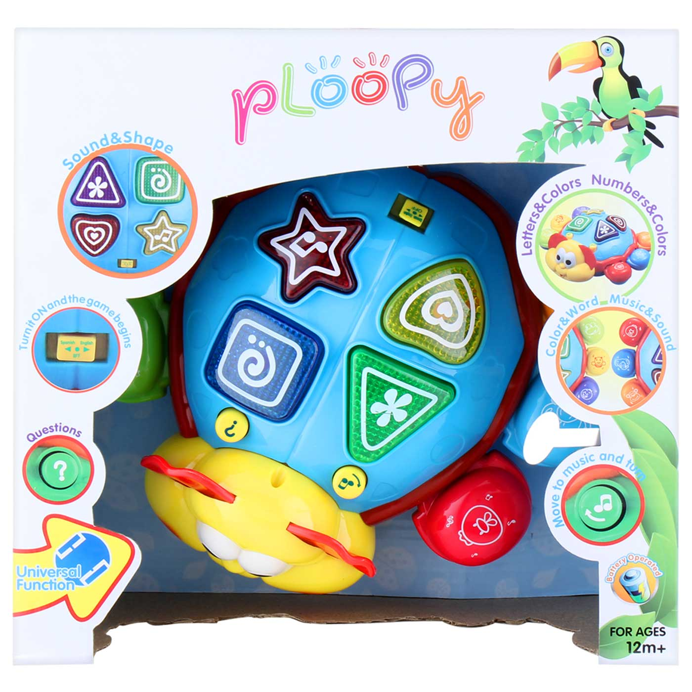 Ploopy Baby Plaything Beetle with Music and Light
