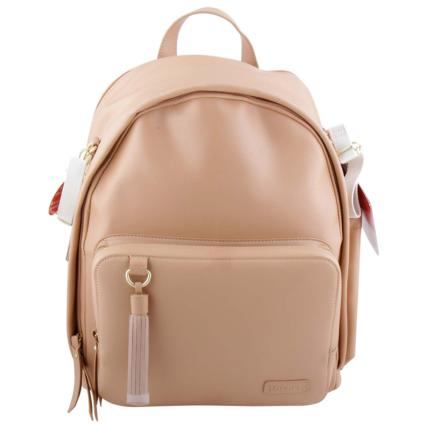 Skiphop Greenwich Simply Chic Backpack Caramel 1