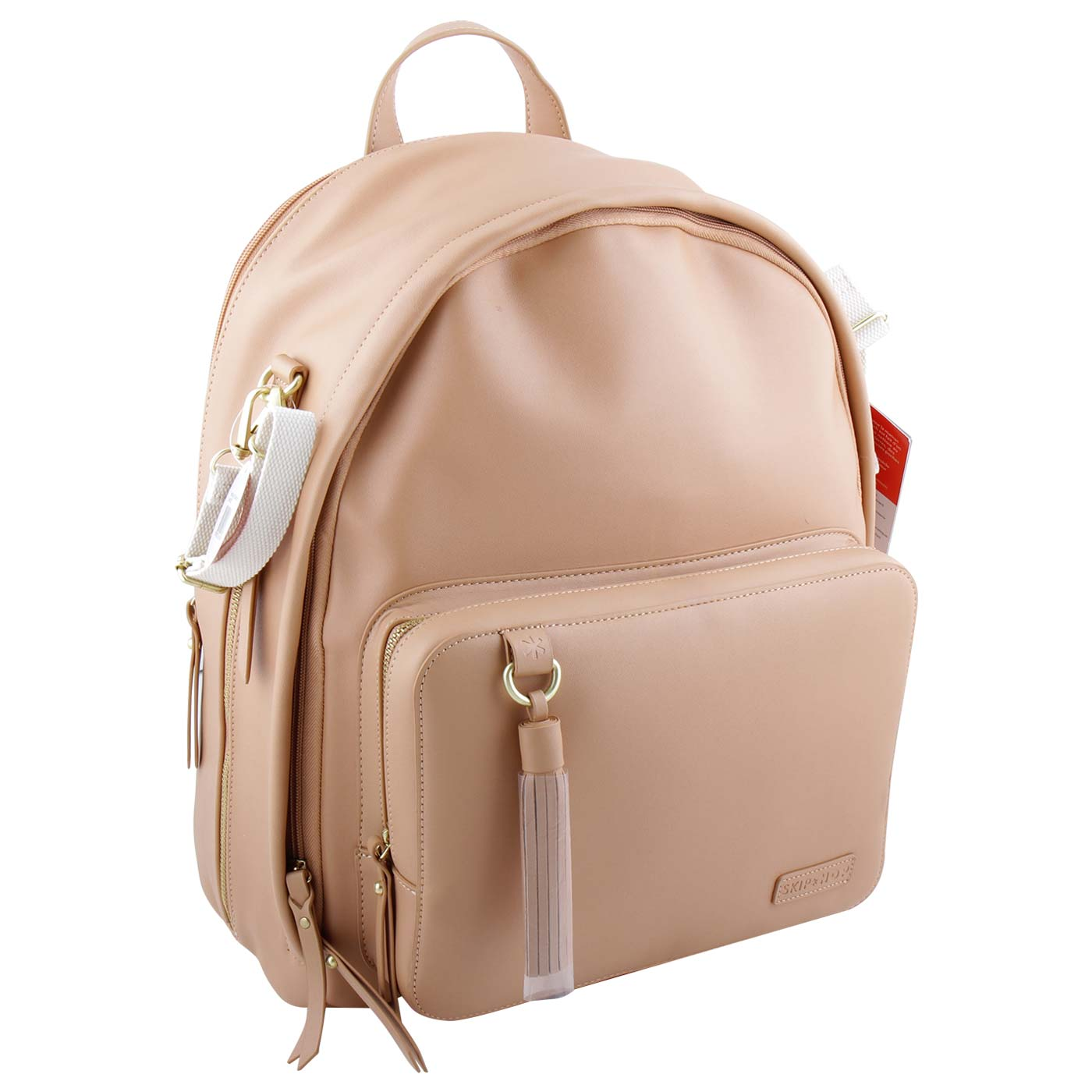 Skiphop Greenwich Simply Chic Backpack Caramel 2