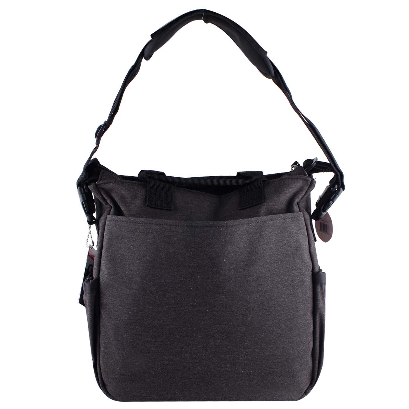 Skiphop Duo Signature Diaper Bag Soft Slate 3