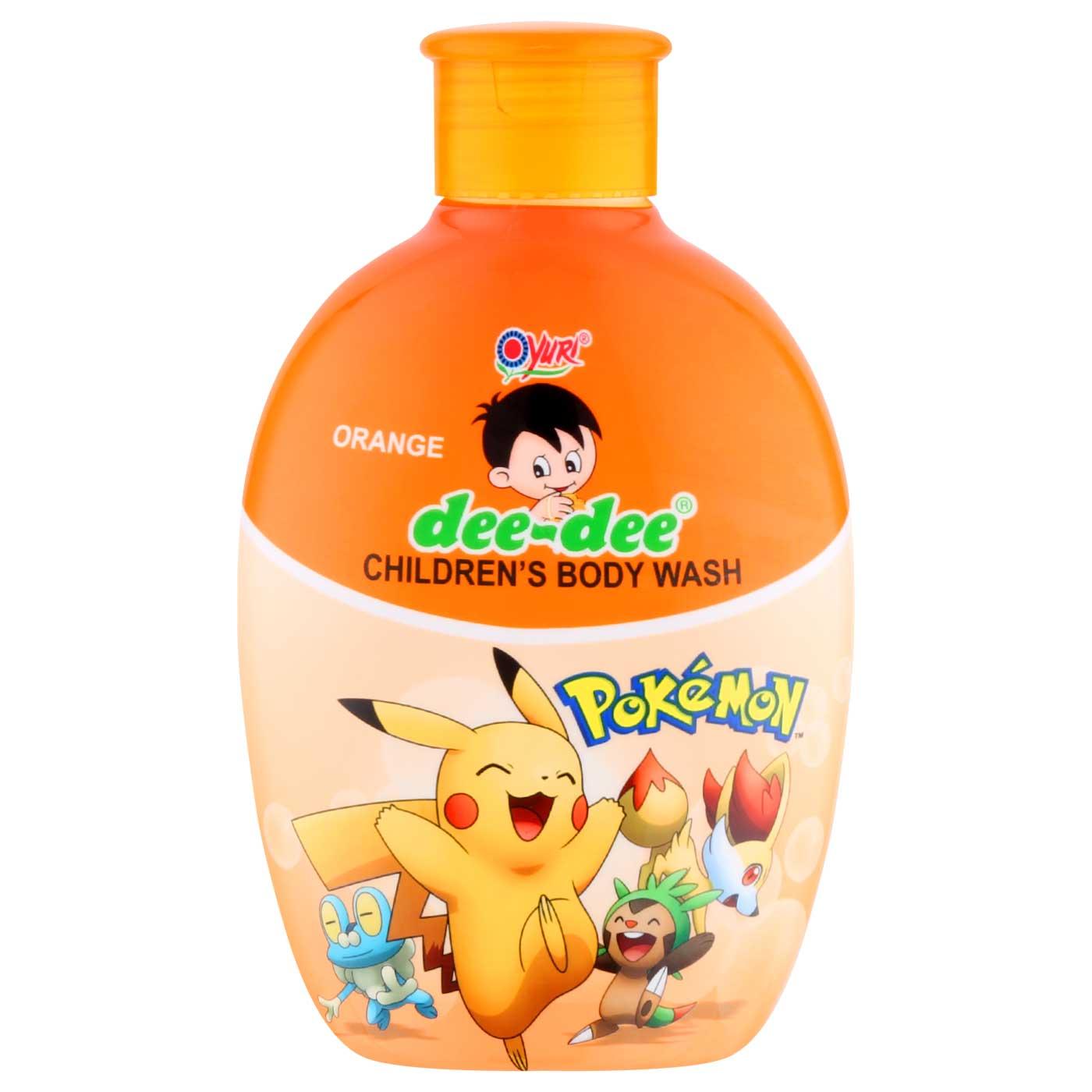 Dee-Dee Body Wash Orange 225ml Btl Refill