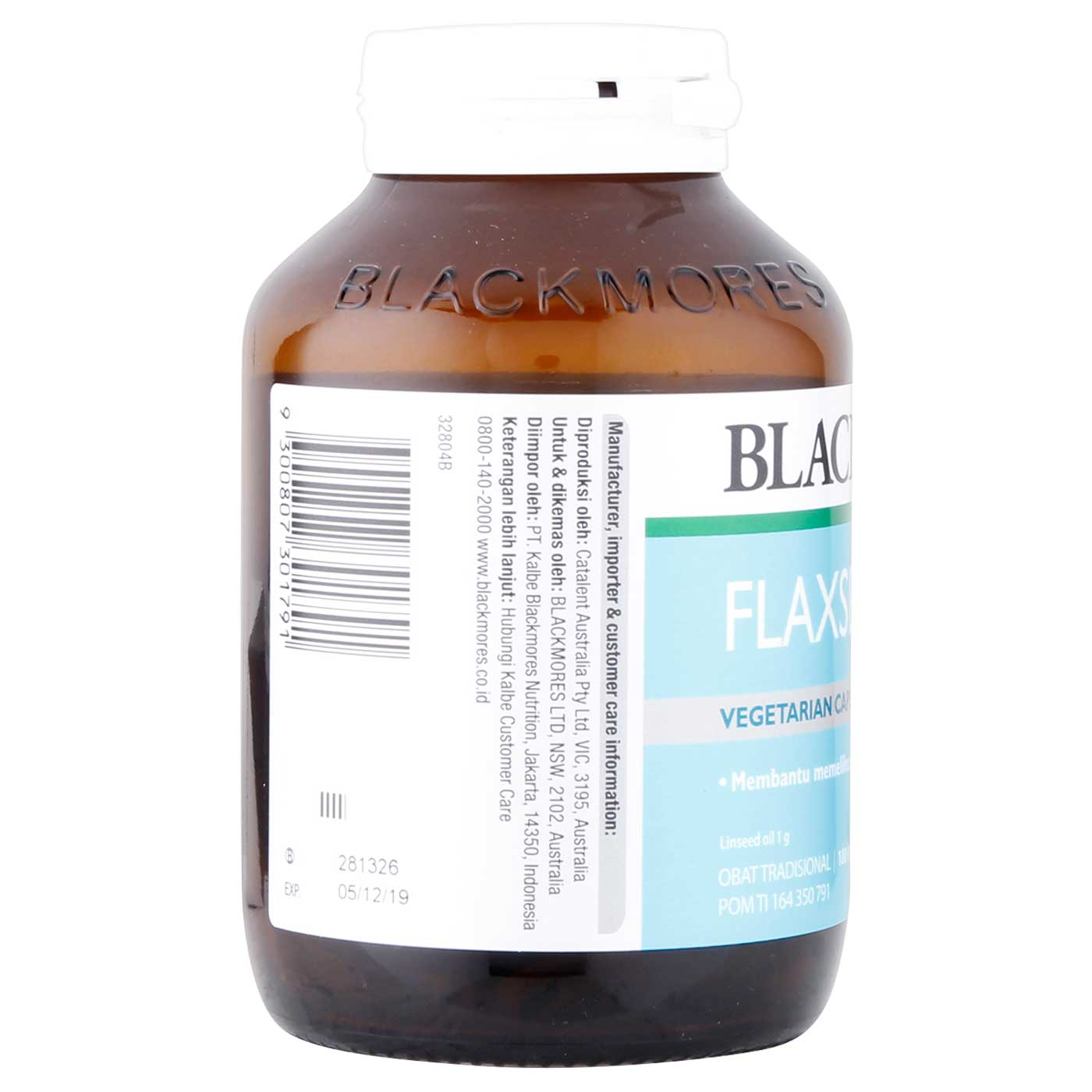 Blackmores Flaxseed Oil 100 Capsule 3