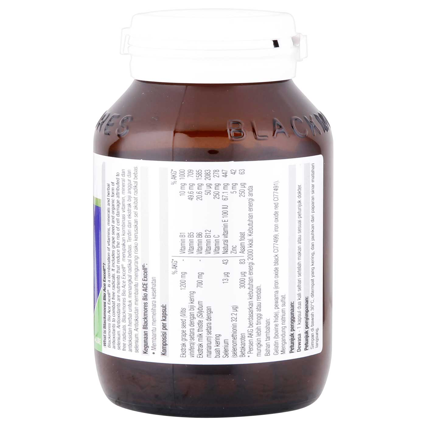Blackmores Bio Ace Excell 80 Capsule 2