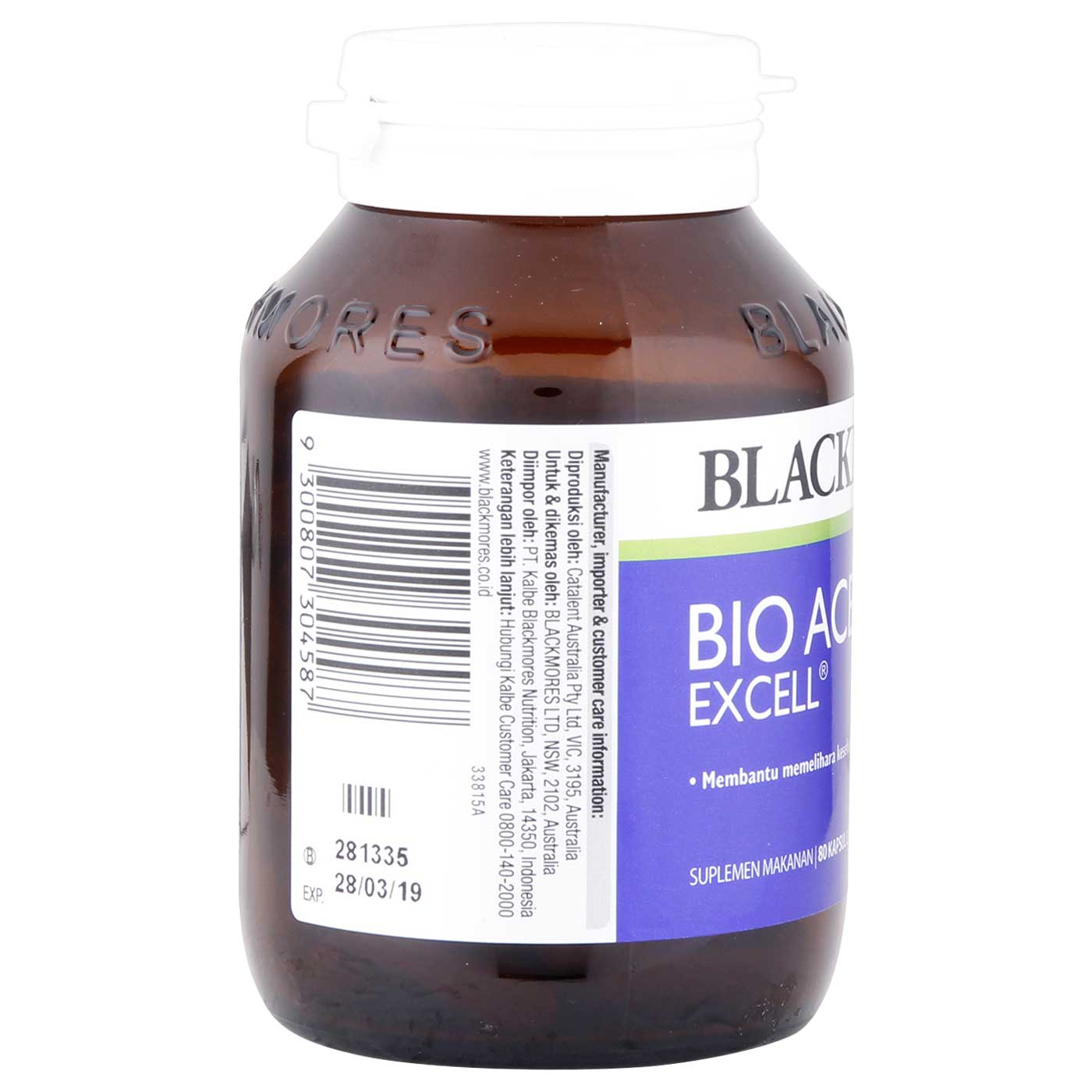 Blackmores Bio Ace Excell 80 Capsule 3