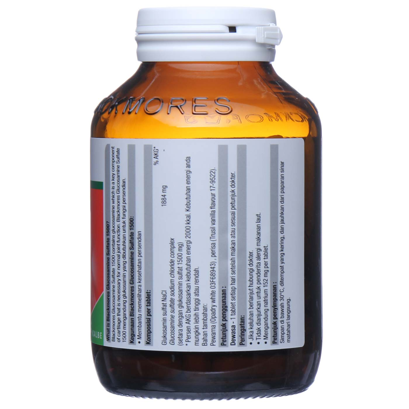 Blackmores Glucosamine Sulfate 1500 2