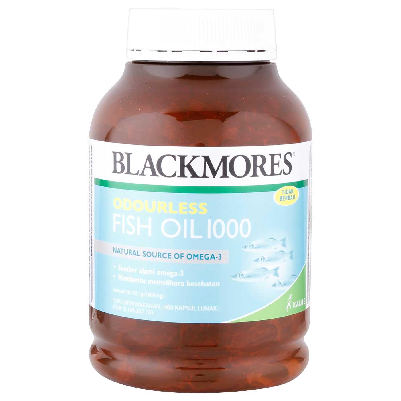 Blackmores Odourless Fish Oil 1000 400 Capsule 1