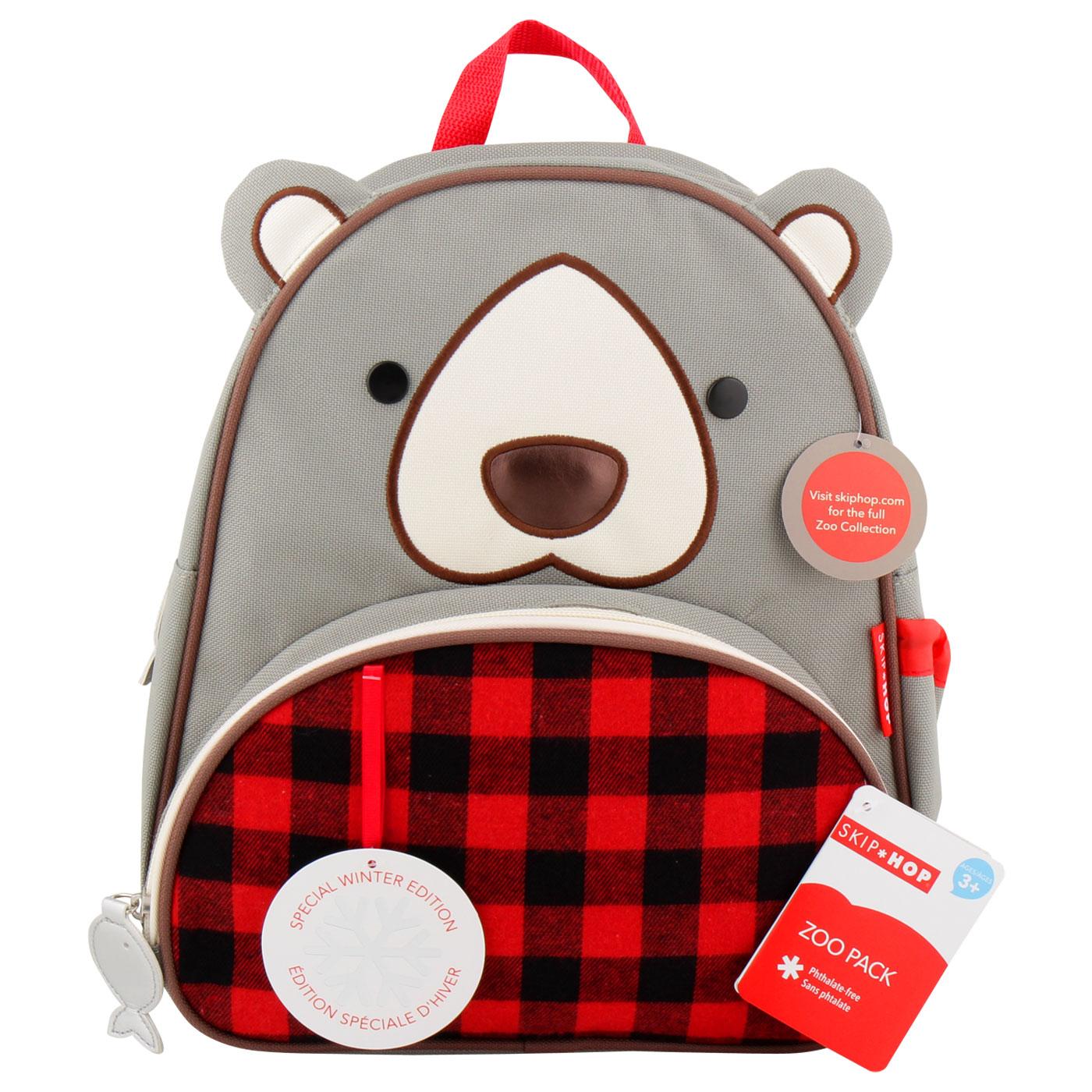 SkipHop Winter Backpack- Bear 1