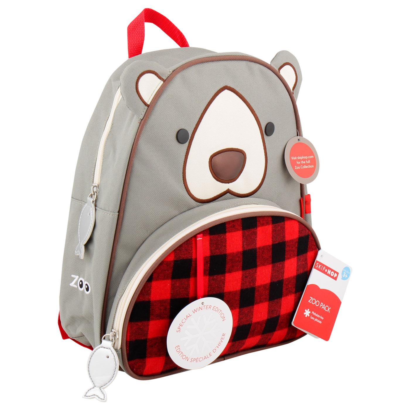 SkipHop Winter Backpack- Bear 2