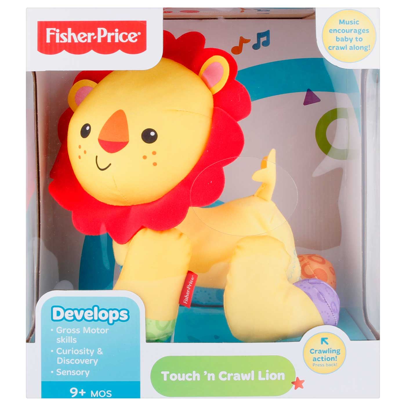 Fisher Price Infant Touch And Crawl Lion 2