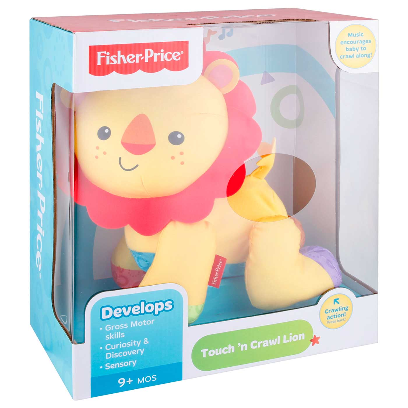 Fisher Price Infant Touch And Crawl Lion 3