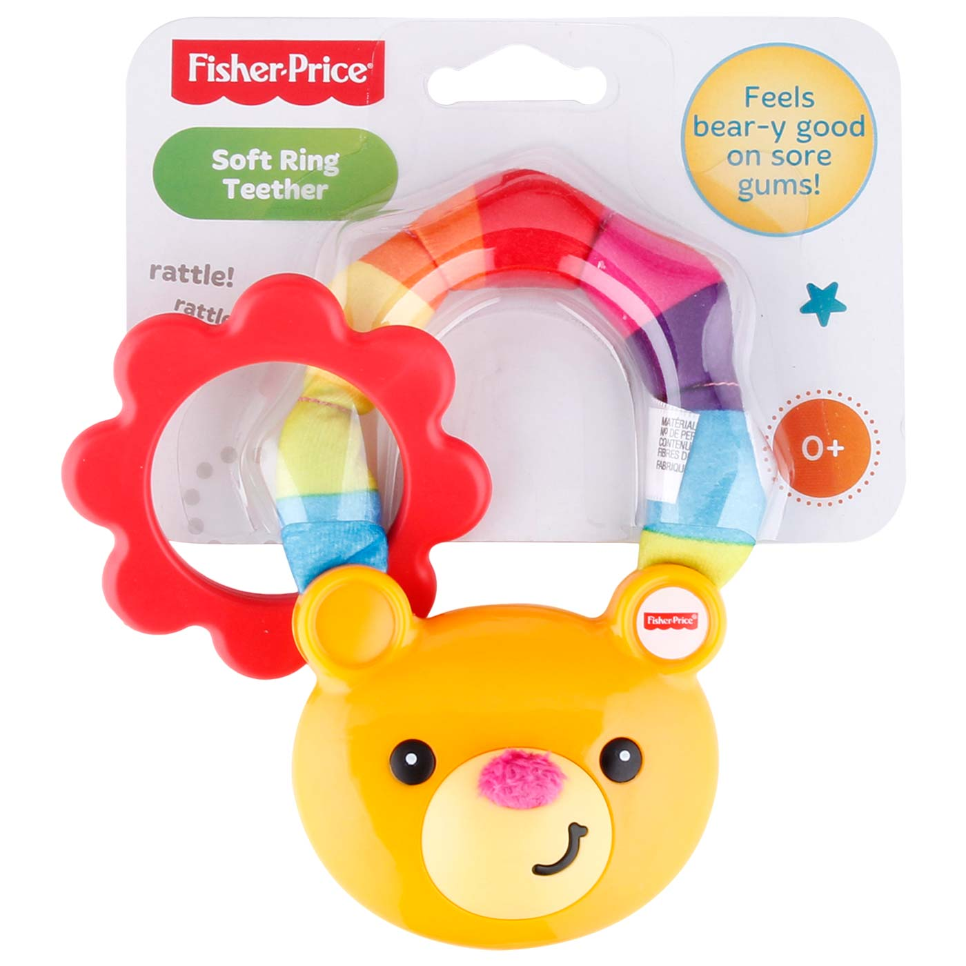 Fisher Price BNB Soft Ring Teether