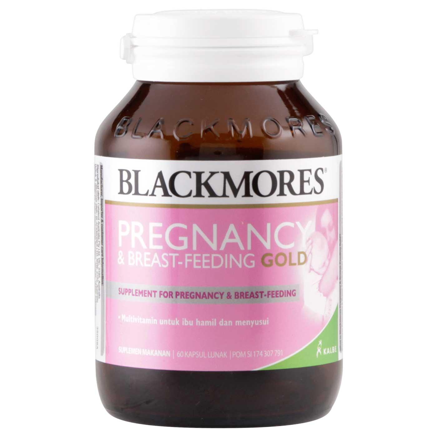 Blackmores Pregnancy & Breast-Feeding Gold (60 Tablet)