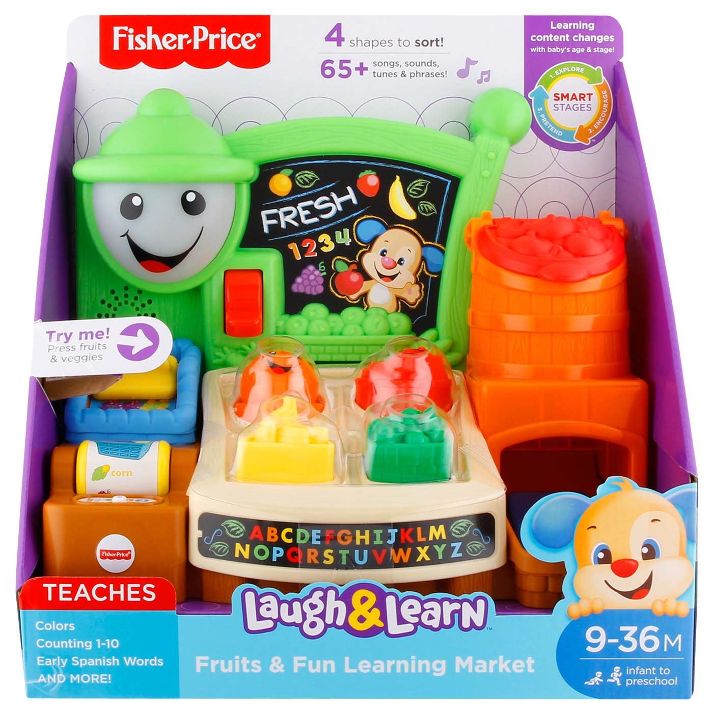 Fisher Price L&L Fruits N Fun Learning Market 1