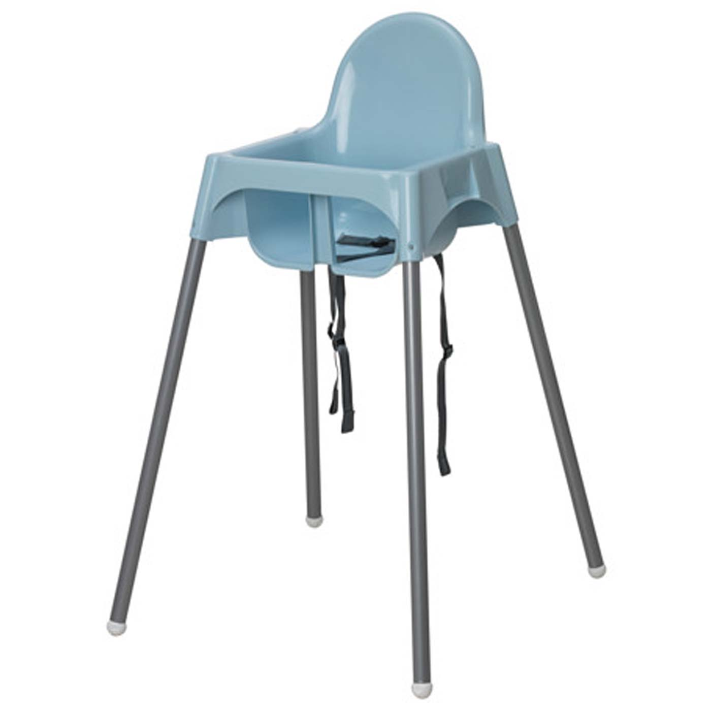 IKEA Antilop Highchair Blue with White Tray