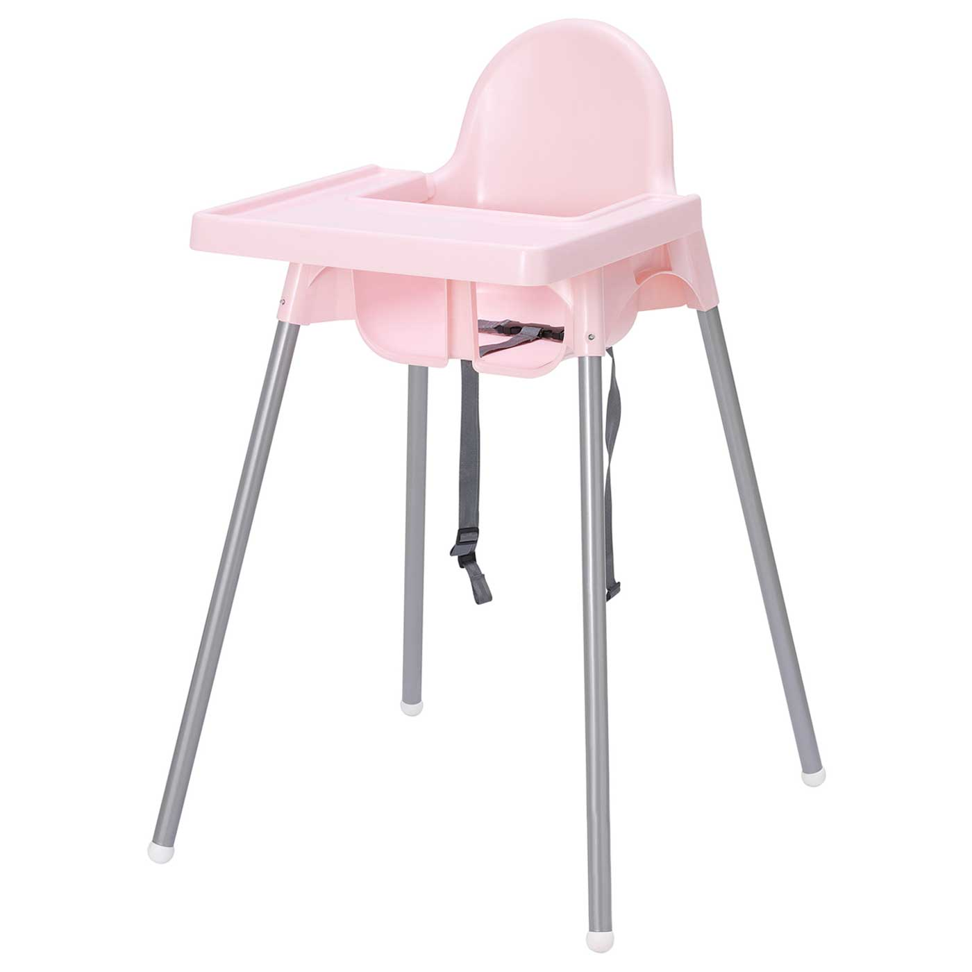 IKEA Antilop Highchair Pink With Pink Tray