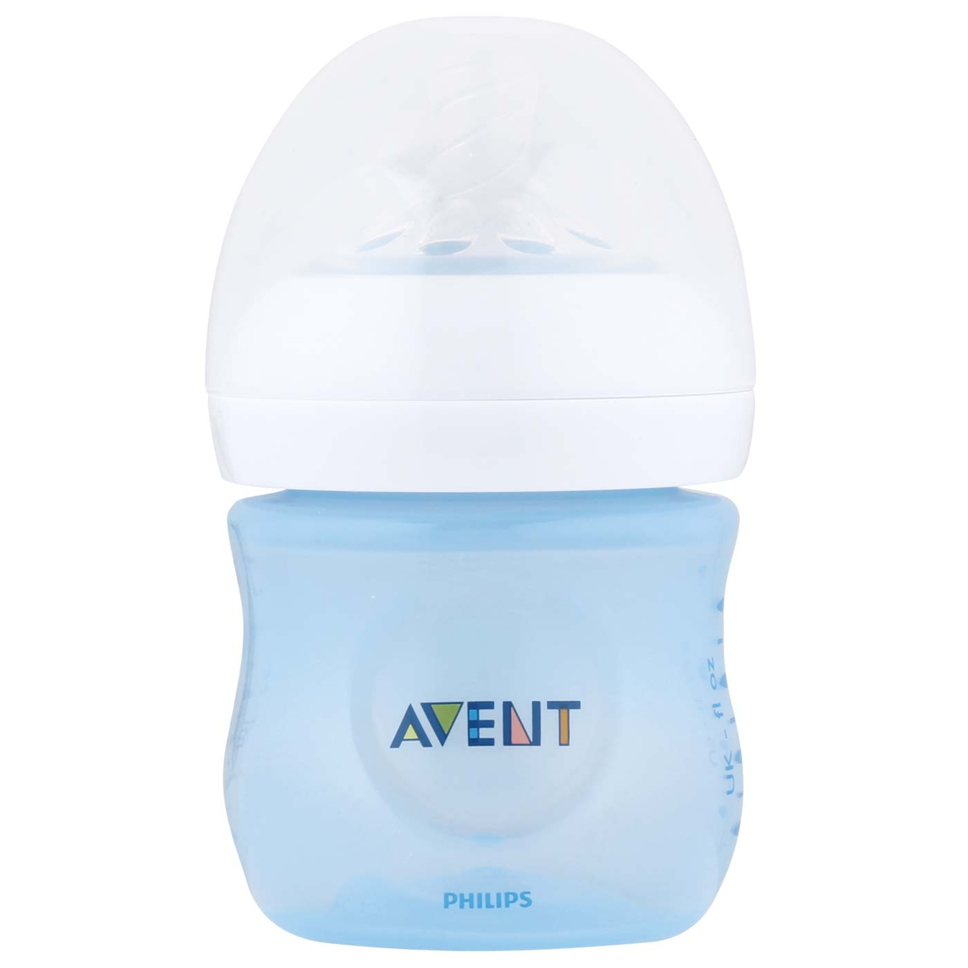 Philips Avent 1 Bottle Natural 125ml Blue 0M+